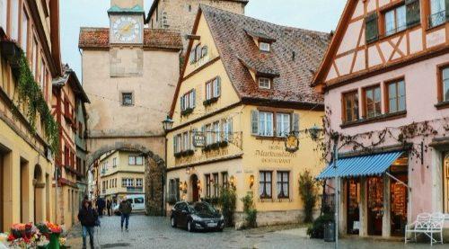 Romantik Yol Almanya
